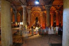 Underground Basilica Cistern Stock Image