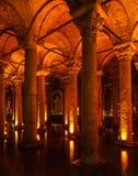 Underground Basilica Cistern Stock Photography