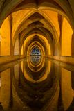 Baths of The Royal Alcazar Seville, Spain royalty free stock images