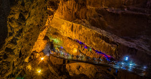 Underground Bridge Royalty Free Stock Photography