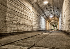 Underground bunker from cold war Royalty Free Stock Images