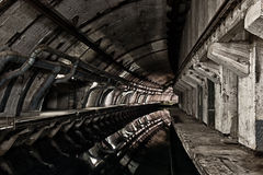 Underground bunker from cold war Royalty Free Stock Photo