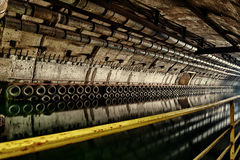 Underground bunker from cold war Stock Photography