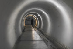 Underground bunker in the Eastern Carpathians Stock Images