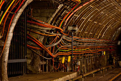 Underground cables Royalty Free Stock Photos