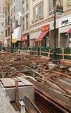 Underground Cables New York City USA Royalty Free Stock Photos