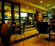 Underground cafe stock images