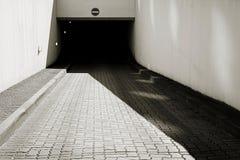 Underground car park Stock Image