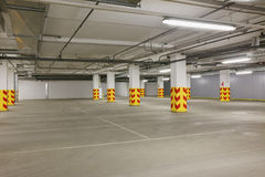 Underground car parking Royalty Free Stock Photography