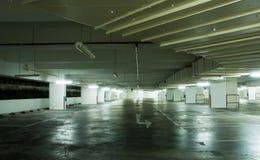 Underground Carpark Interior Stock Image