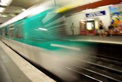 Underground carriage Stock Image