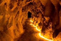 Underground cave Stock Image