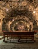 Underground Chapel in Salt mine - Zipaquira, Colombia. Underground Chapel in Salt mine in Zipaquira, Colombia Stock Photo