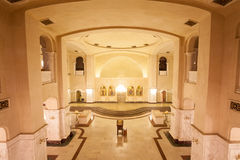 Underground church of Holy Trinity Cathedral Royalty Free Stock Images