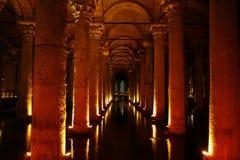 Underground Cistern in Turkey Royalty Free Stock Image