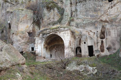 Underground City in Guzelyurt, Aksaray. Royalty Free Stock Photos