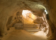 Underground City. Kaymakli Underground City, Nevsehir, Turkey Royalty Free Stock Image