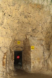 Underground city in Naours  Stock Image