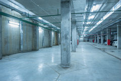 Underground city parking. Stock Photography