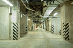 Underground city parking Royalty Free Stock Photography