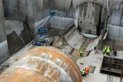 Underground construction site Stock Images
