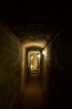 Underground corridor. Photography of Underground dark corridor Stock Photography