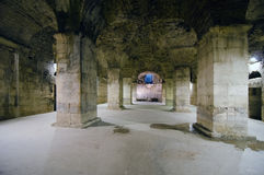 Underground of Diocletian Palace Stock Photography