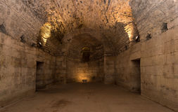 Underground of Diocletian Palace, Split. Stock Images