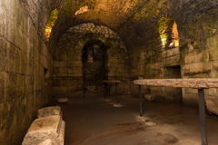 Underground of Diocletian Palace, Split. Stock Photography