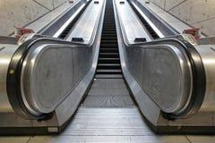 Underground Escalator royalty free stock photo