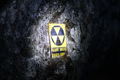 Underground Fallout Shelter Stock Photography