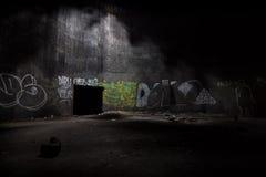Underground fuel tank Stock Photos