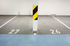 Underground garage Royalty Free Stock Photography