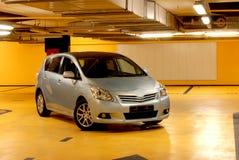 Underground garage. The car is parked in the underground garage Stock Photography