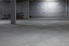 Underground garage construction Stock Photography