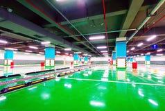 Underground garage Royalty Free Stock Photo