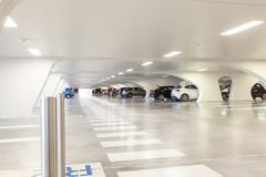 Underground garage Royalty Free Stock Photography