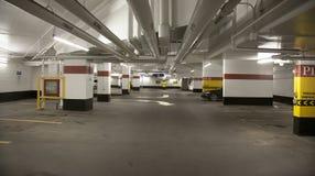 Underground garage parking. In building Royalty Free Stock Photo