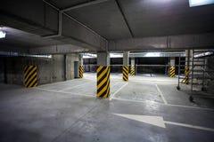 Underground Garage under building, parking lot. Underground Garage under building, parking Stock Photo