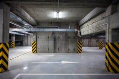 Underground Garage Stock Image