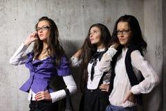 Underground girlfriends Stock Image
