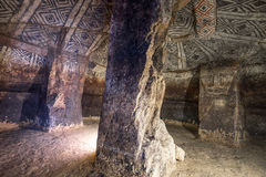 Underground grave chamber. In Tierradentro Colombia Royalty Free Stock Images