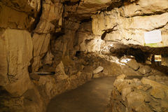 Underground grottes Stock Photos