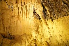 Underground grottes Stock Images