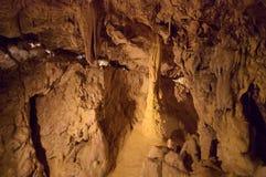 Underground grottes Stock Photo