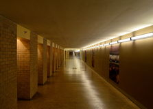 Underground Hallway Royalty Free Stock Photography