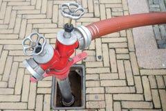Underground hydrant Stock Photo