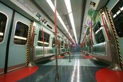 Underground interior Stock Photo