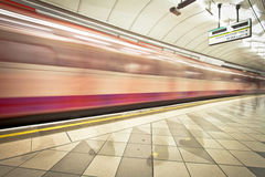 The Underground, London Stock Photo