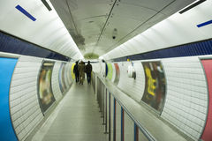 Underground in London. Travel in London Royalty Free Stock Images